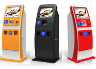 Cash , Credit Card and Checks Interactive Information Bank Self Service Kiosk