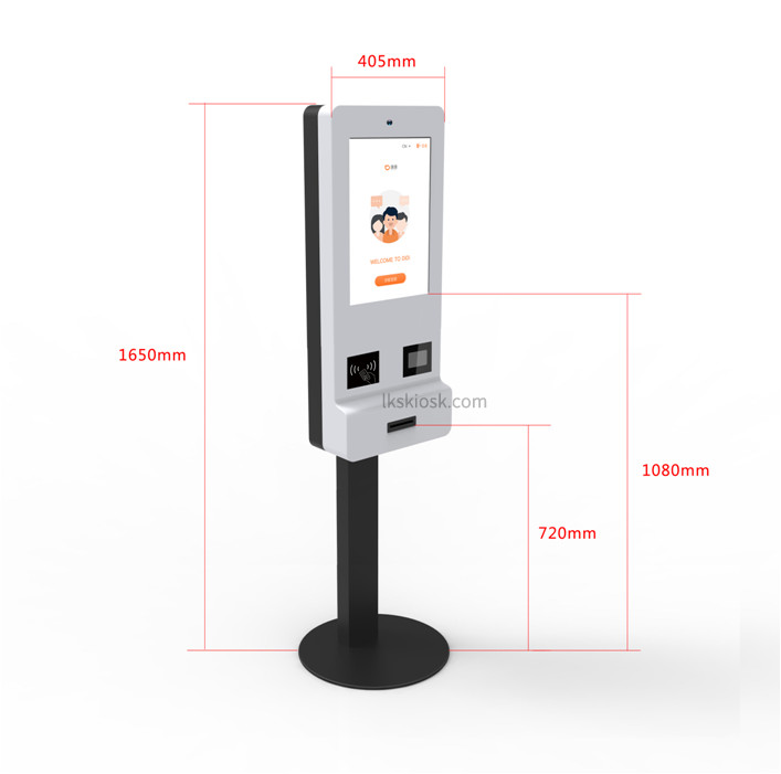 19'' Touch Display Self Service ordering Kiosk