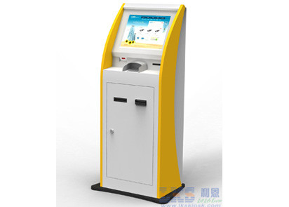 Thermal Printer Bill Payment Kiosk Machine With 17inch Touch Screen , Dust Proof