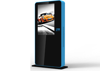 "42"" Self Service Kiosk , Advertising Digital Signage Kiosk With Dual Core 2.8ghz"